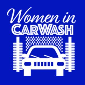 Women in carwash logo