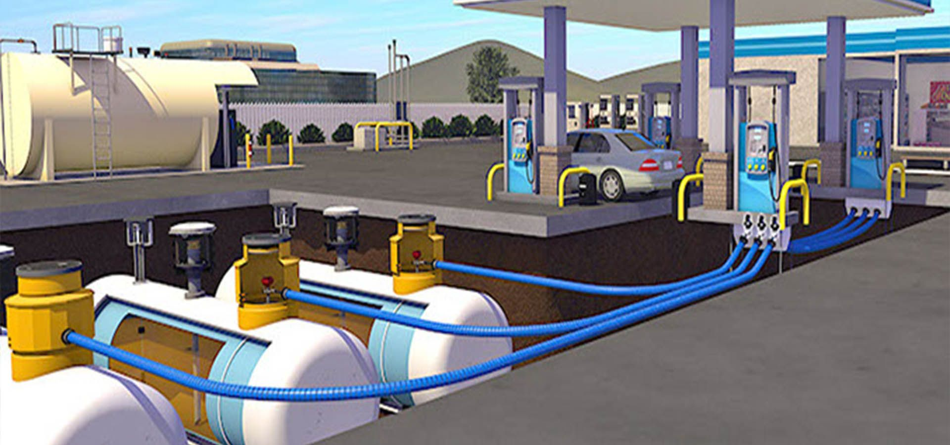 Forecourt Insight Underground Fueling